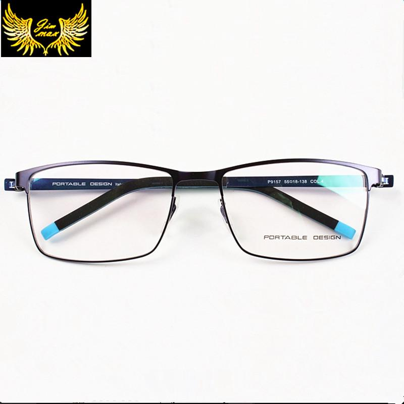 f0078b53231f 2019 Wholesale 2016 New Arrival Men Woman Titanium Allow Full Rim Eye  Glasses Fashion Men'S Eyeglasses Super Light Casual Optical Frame For Men  From ...