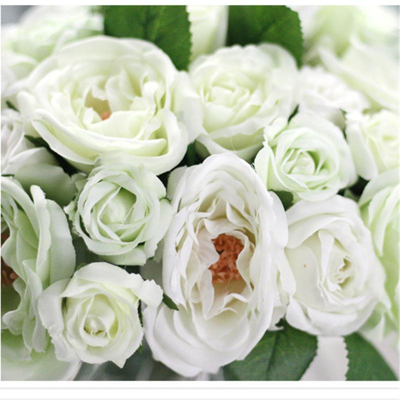 2018 Wholesale Artificial Fake Ranunculus Flowers Bouquet Floral ...