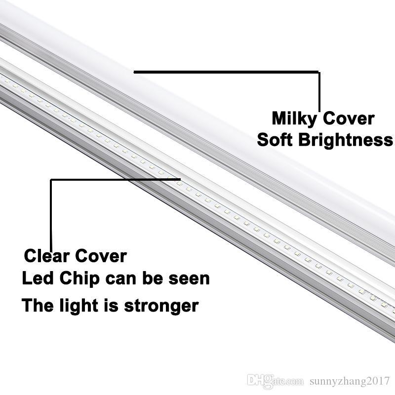 Integrado T8 Led tubo de luz 2 pies 600 mm 10 W lámpara fluorescente AC85-265V CRI 80 alto lumen, precio de fábrica