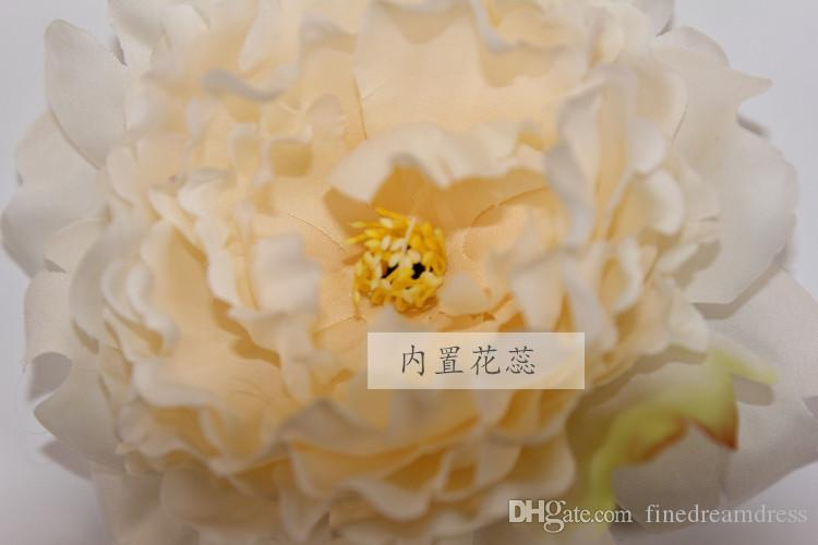 Silk Artificial Peony Flowers DIY Background Home Wedding Gate Tabel Ornament Decoration Flowers