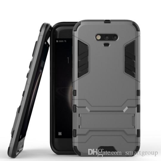 For Huawei Honor Magic Case Rugged Combo Hybrid Armor Bracket Impact Holster Protective Cover Case For Huawei Honor Magic