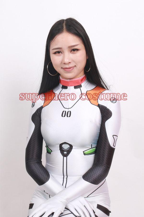 2017 New Superhero Costume Female/Women/Girls/Lady Halloween Cosplay Zentai Catsuit Custom Lycra Spandex Digital Print Suit