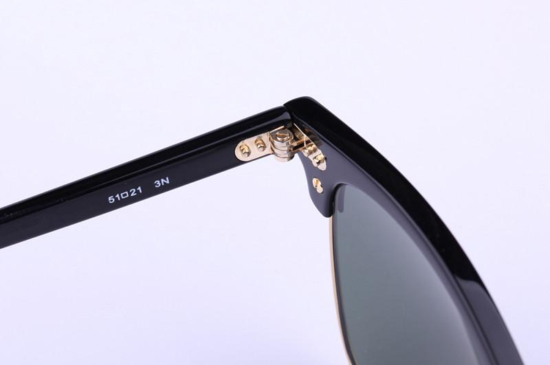 AOOKO Hot Sale Designer Pop Club Fashion Sunglasses Men Sun Glasses Women Retro Green G15 gray brown Black Mercury lens New Hinge 49mm 51mm