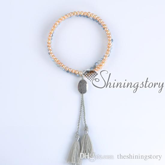 perle schmuck online süßwasser perlenschmuck baum des lebens armband armbänder mit quasten perlen armbänder mit quasten