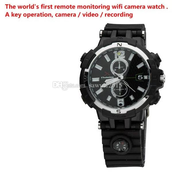 8 ГБ 16 ГБ Беспроводной Wi-Fi смотреть сетевая камера HD 720 P смотреть видеорегистратор DVR пинхол видеокамера с обнаружением движения ИК ночного видения