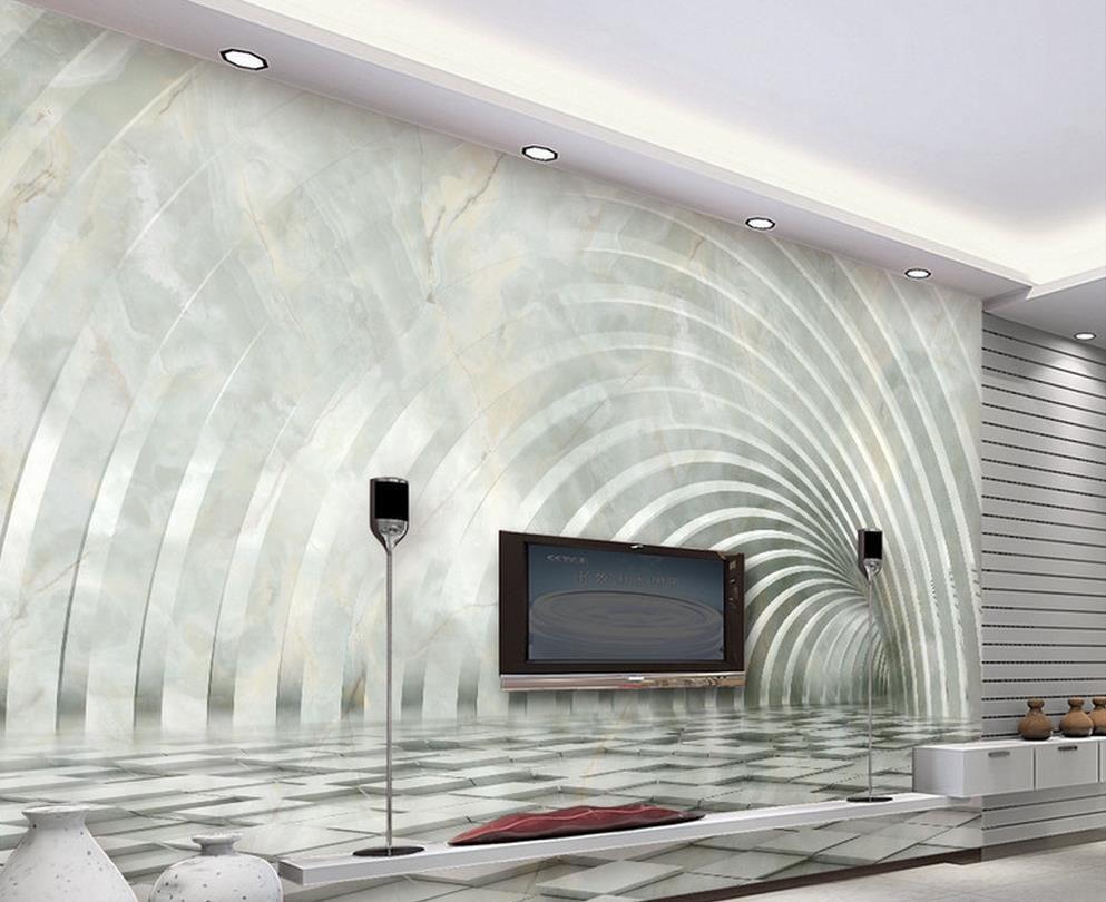 Высококачественный трехмерный мрамор 3D пространство обои гостиной ТВ фон для стен 3 D для гостиной