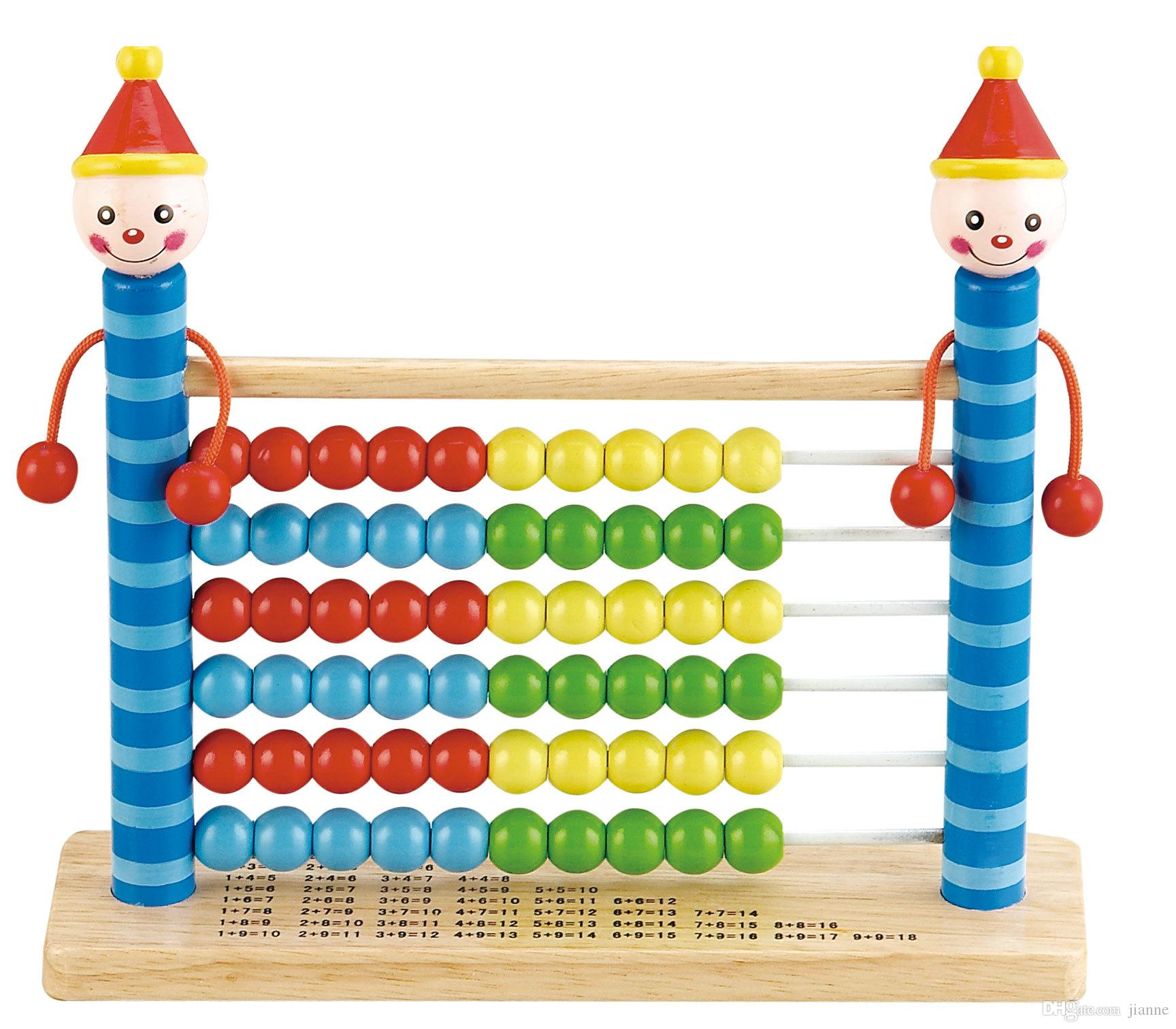 New Kids Intelligence Toys Wooden Abacus Three Styles Children
