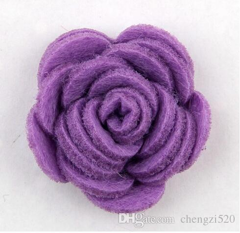 Fashion handmade felt rose flower Diy for hair accessories headband ornaments YH465