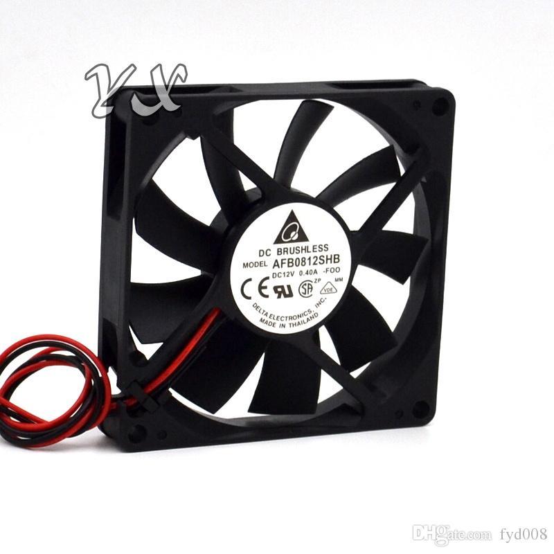 nuevo Delta 8CM 8015 Rodamiento de bolas 0.40A ventilador de refrigeración AFB0812SHB