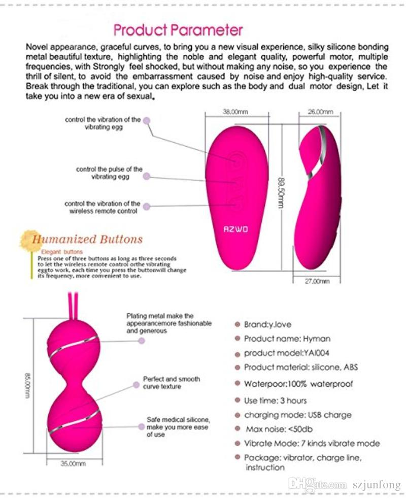 Silicone Kegel Balls Remote Control Vibrator Ben Wa Ball Vagina Tight Exercise Vibrating Eggs Adult Sex Toys Products For Women Bracelets And Earrings Buy