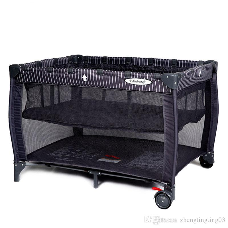 Baby Bed Foldable Multi Function Cradle Bed Portable Baby