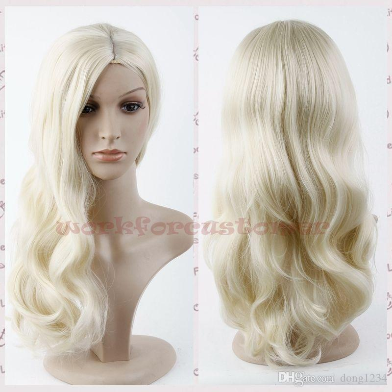 Havana African American Woman ≫≫New Womens Long Wavy Blonde Wig Lady Full  Wig Cosplay Wig Synthetic Wig+Hair Cap Katy Perry Blue Wig Malaysian Full  Lace ... 40dc5504e9