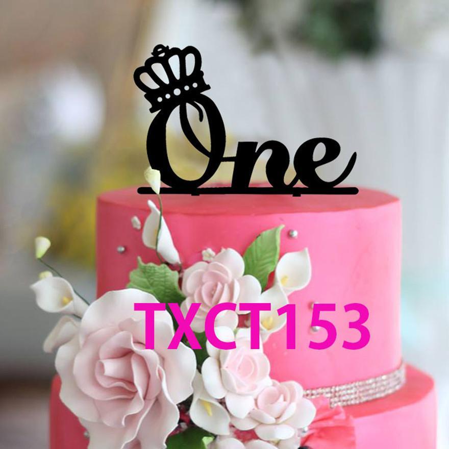 Acheter Gros Gateau Toppers Wedding Anniversaire Gateau Topper Un An