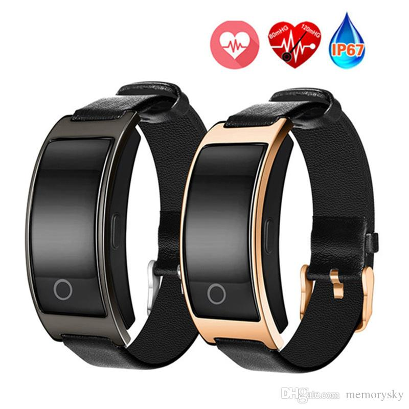 CK11S Smart Band smart watches Blood Pressure Heart Rate Tracker Bracelet Passometer IP67 Waterproof Smart Wristband