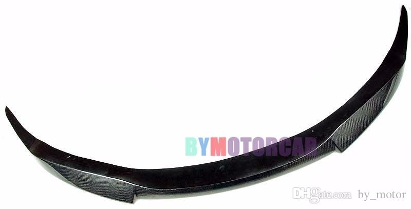V Style Real Carbon Fiber Front Lip Spoiler E63 E64 6-Series M6 Bumper Fit For BMW