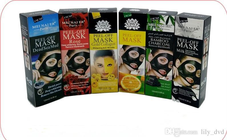 Peel Off Masque d'or collagène visage whitening Anti Winkles Masque Cristal Or Poudre de collagène Masque Soin de la peau Produits 120ML