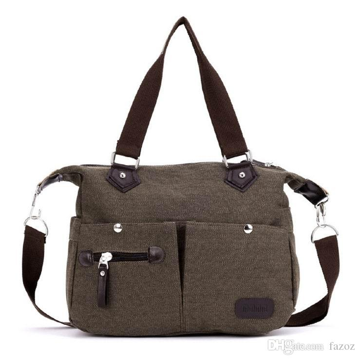 Best Selling Single Shoulder Messenger Crossbody Bag Casual Fashion Top  Handle Canvas Brand Handbag For Women Factory Direct Sell Leather Satchel  Ladies ... 70b1484f0aec9