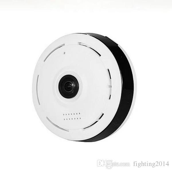 Cámara de nube de 360 grados WIFI Globo Cámara panorámica Fisheye mini P2P Cámara IP IR Visión nocturna Seguridad para el hogar Vigilancia CCTV Cam