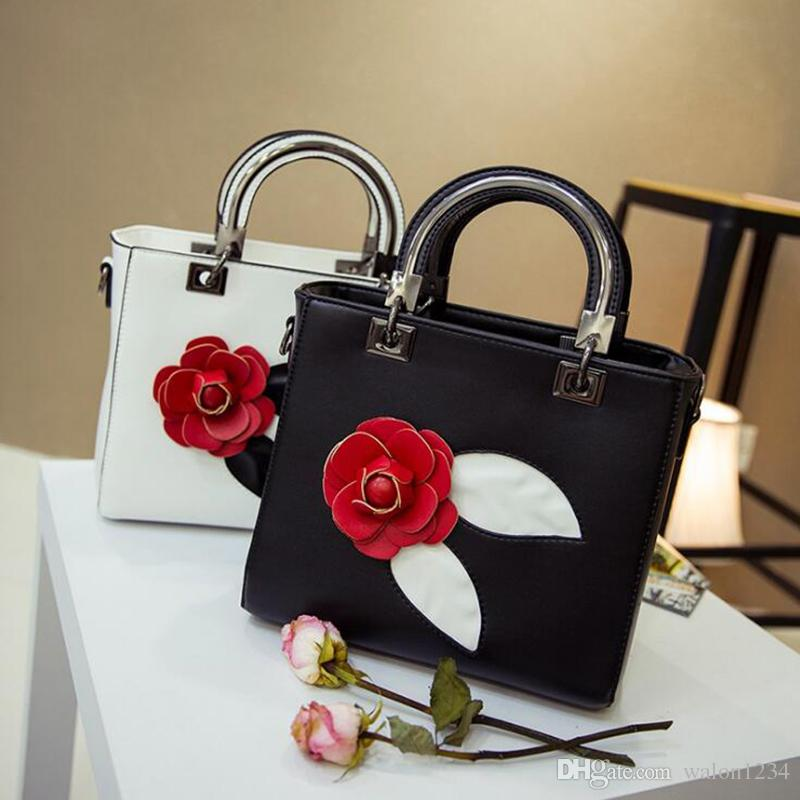 3D Flower Print Hard Handbags For Women Fashion Designer Evening Women  Handbags Luxury Brand Female Purse Phone Message Bags Ladies Bags Leather  Purses From ...