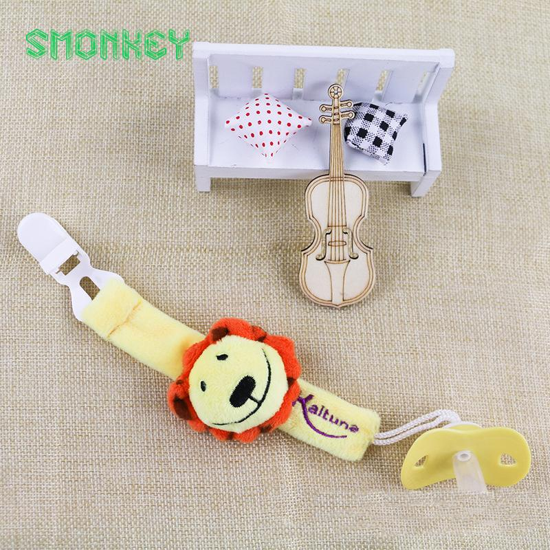Wholesale Funny Animal Dummy Pacifier Leash Chains Clips Holder