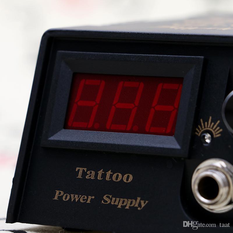 New Professional Tattoo Power Supply with Plug for Tattoo machine Gun TPS003