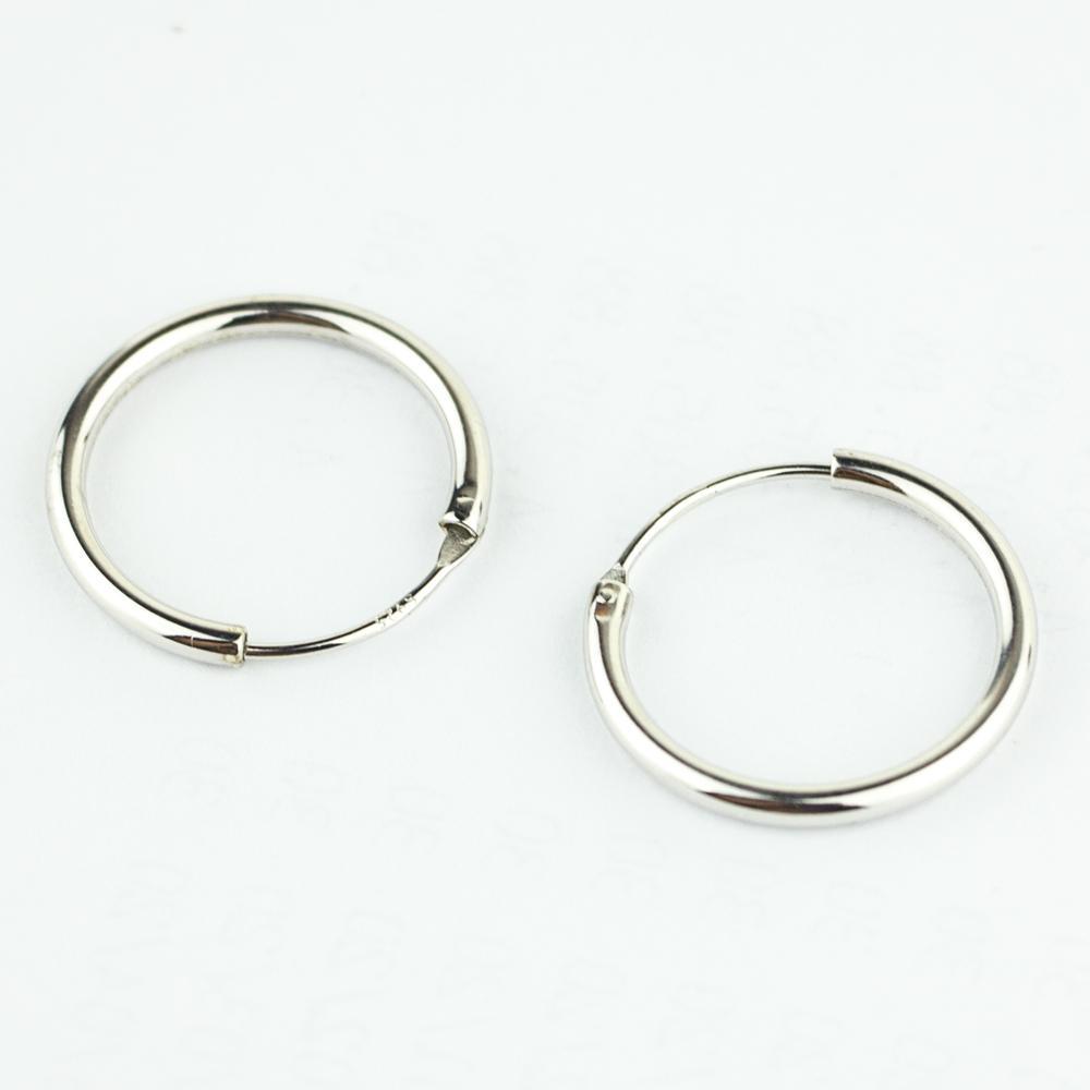 Silver Hoop Earrings Luxury Women 925 Sterling Silver Hoop Earrings Simple  Circles Earrings For Ladies Girls UK 2019 From Ifso 0f5ee9b16