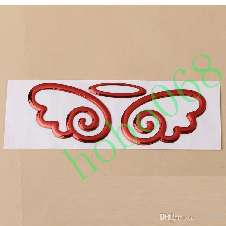Car Vehicle Decoration Angel Wings Stickers Stero Personality Exterior Accessories AUTO BODY DECAL DIY