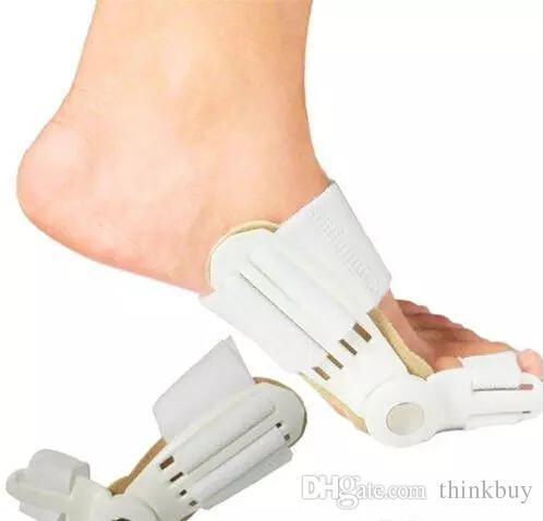 500 Pz Dispositivo borsite Alluce Valgo Pro ortopediche Bretelle Correzione piedi Piedi Cura Correttore Pollice Goodnight Daily Big Bone Orthotics