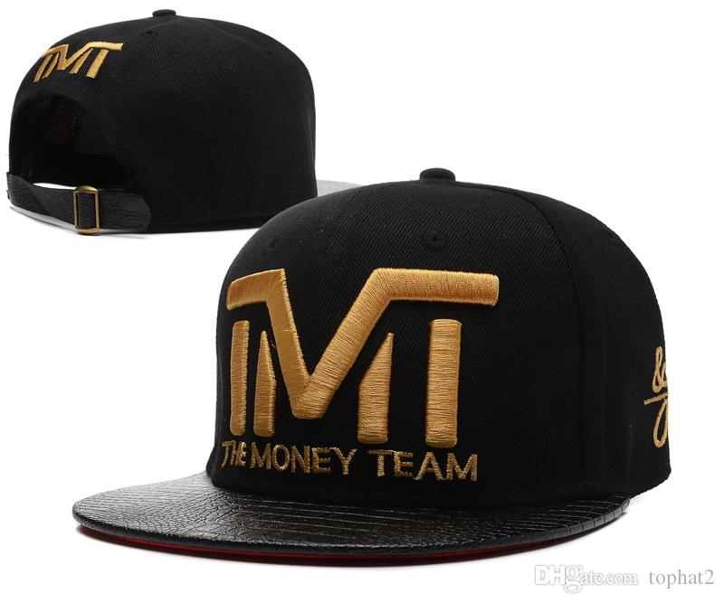 Hot New 2017 Wholesale Full Black The Team Money Snapback Caps Hiphop  Adjustable Hat Men & Women Classic Baseball Hats Cheap Hats For Sale  Neweracap From ...
