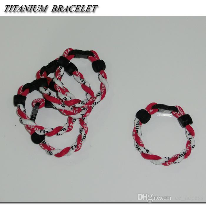 OEM / ODM custom energy braided rope bracelet / cheap power bands