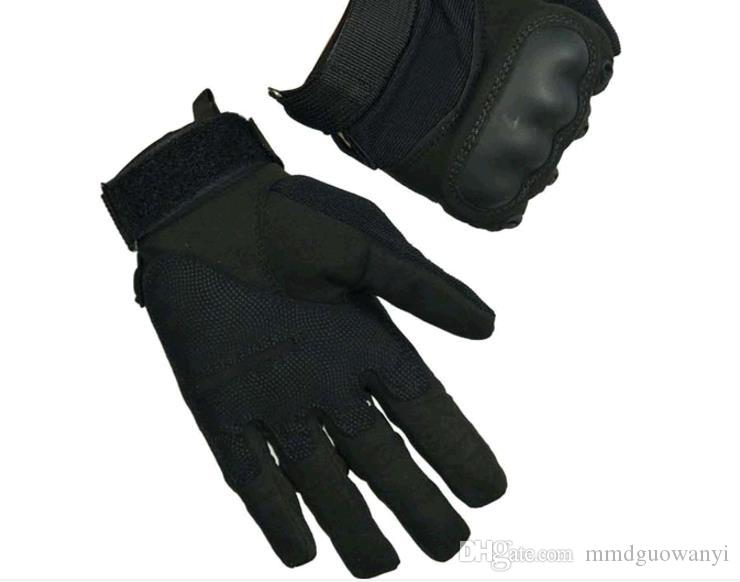 Guanti da uomo nuovi di vendita caldi gli speciali guanti tattici esterni. Guanti anti-scivolo auto protettive