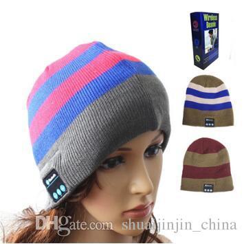 e4c2f037766 Wireless Bluetooth Beanies Sport Music Hat Smart Headset Cap Warm Winter Hat  With Mic Speaker For All Smart Phones CCA7469 Caps Cap From  Shuaijinjin china