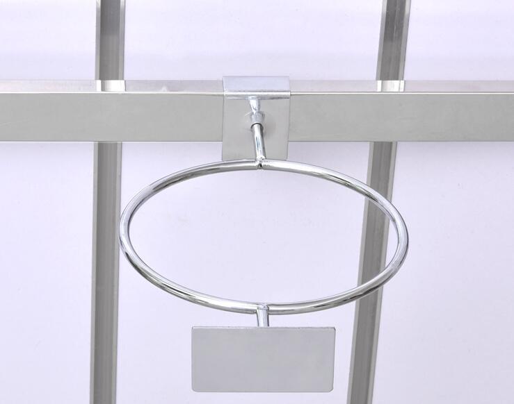 Support de boule support de présentoir crochet métallique étagères accessoires de connexion crochet