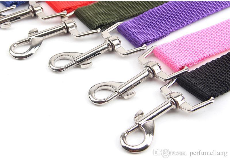 6 Farben Katze Hund Auto Sicherheitsgurt Harness Einstellbare Haustier Welpen Hund Hound Fahrzeug Sicherheitsgurt Blei Leine für Hunde ZA3971