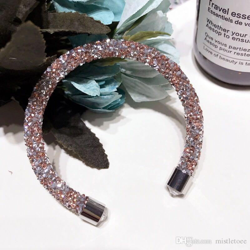 2018 Hot Sale Round Crystal Bracelet Prong Setting Sport Tennis ...