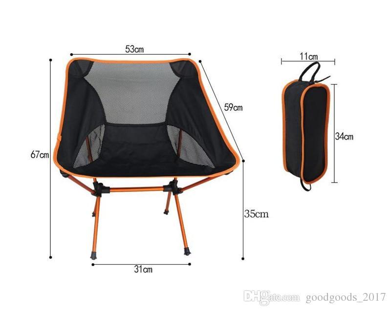 Outdoor Stuhl Ultra Light Klapp Angeln Stuhl Sitz für Outdoor Camping Freizeit Picknick Strand Stuhl andere Angeln Werkzeuge M723