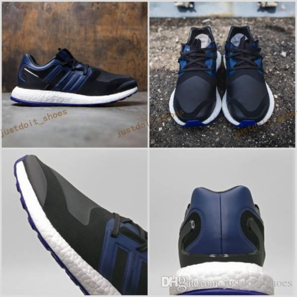 2017 Y3 Pure Knit Boost Black Navy By8956 Primeknit Boost ZG Mens Athletic Y3 Shoes Mens Ultra Boost Running Shoes Sports Size 39-45 visa payment cheap great deals choice sale online sale online shopping WPbIl