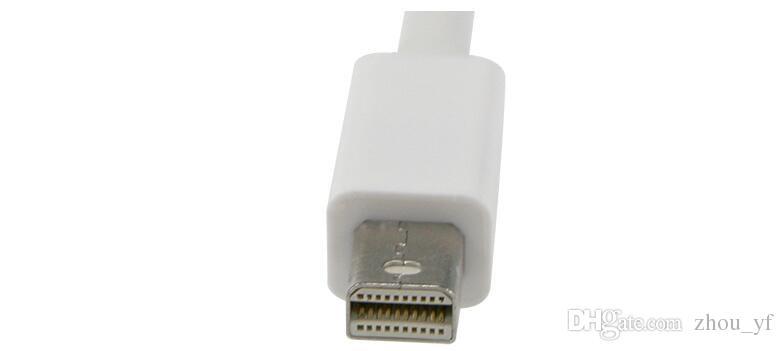 Ücretsiz kargo Yüksek Kalite Thunderbolt Mini DisplayPort Ekran Bağlantı Noktası DP için HDMI Adaptörü Kablosu Apple Mac Macbook Pro Hava