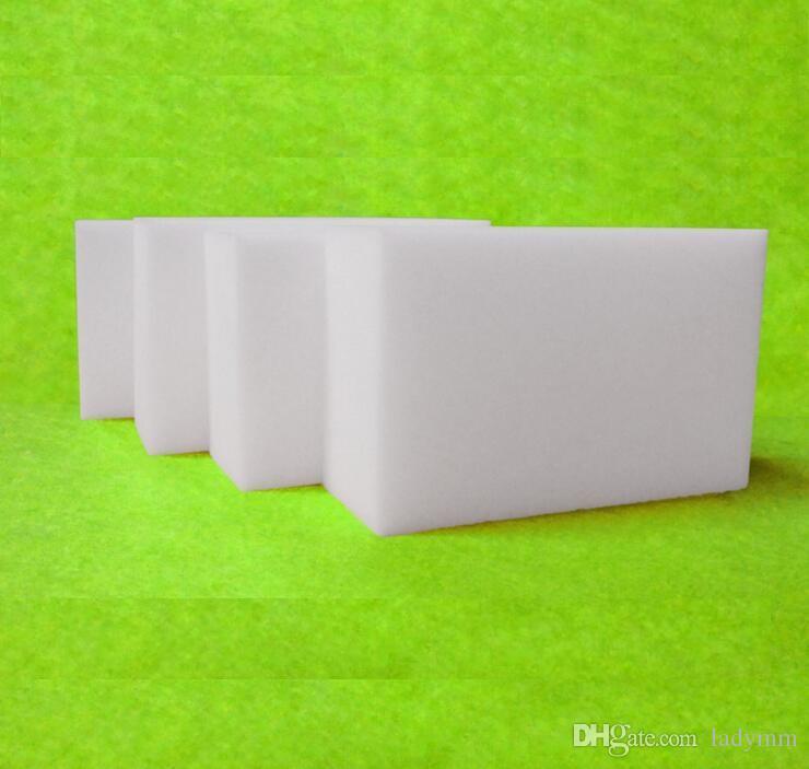1120 pçs / lote Branco Magia Melamina Esponja 100 * 60 * 10mm Limpeza Eraser Multi-funcional Esponja Sem Saco de Embalagem Ferramentas de Limpeza Doméstica