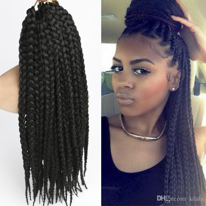 12inch Havana Crochet Mambo Braiding Hair Twist 3s Box Braid Twist