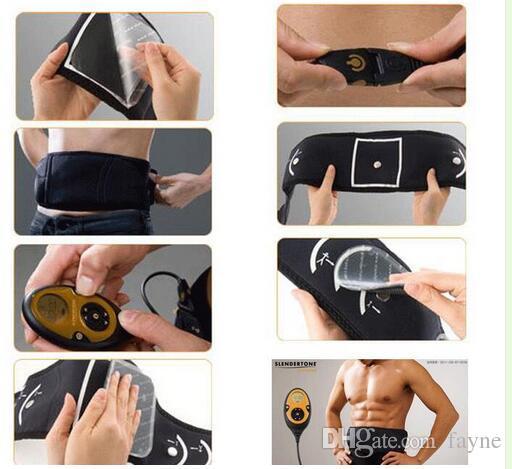 remplacement auto-adhésif Pad unisexe électrodes électrodes pour système abdominal muscle tonique Flex Patch ceinture Ceintures ABS