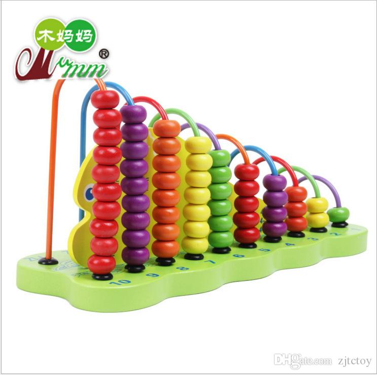 119d44d94393 Kids Wooden Toys Children Abacus Counting Beads Maths Wood Early Learning  Educational Toy Addition And Subtraction Calculation Wooden Abacus Wooden  Toys ...