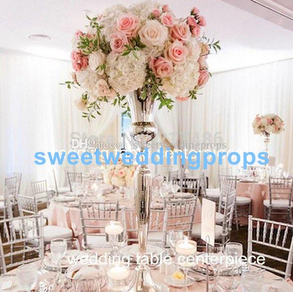 No Flowers Including Cheap Metal Wire Stand Golden Wedding Table Centerpieces Flower Stand For Wholesale Party Item Party Items From