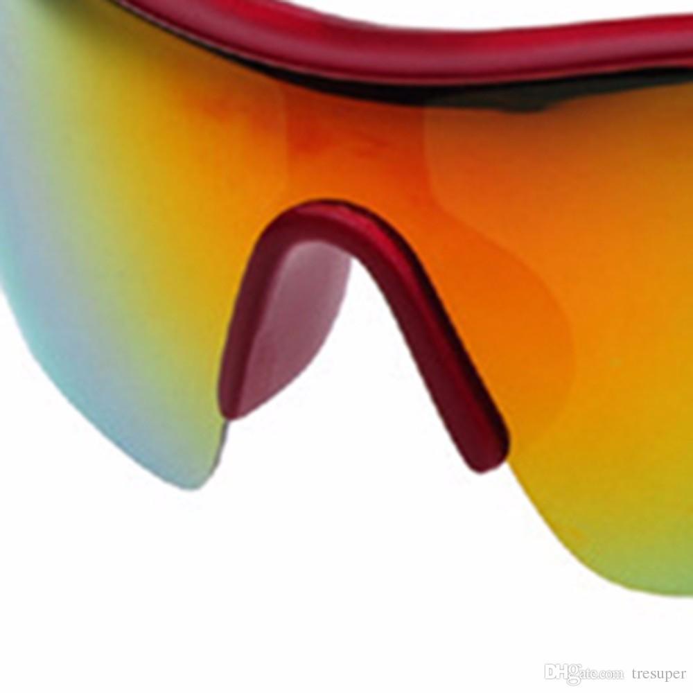 UV400 사이클링 자전거 타기 선글라스 안경 야외 스포츠 안경 자전거 고글