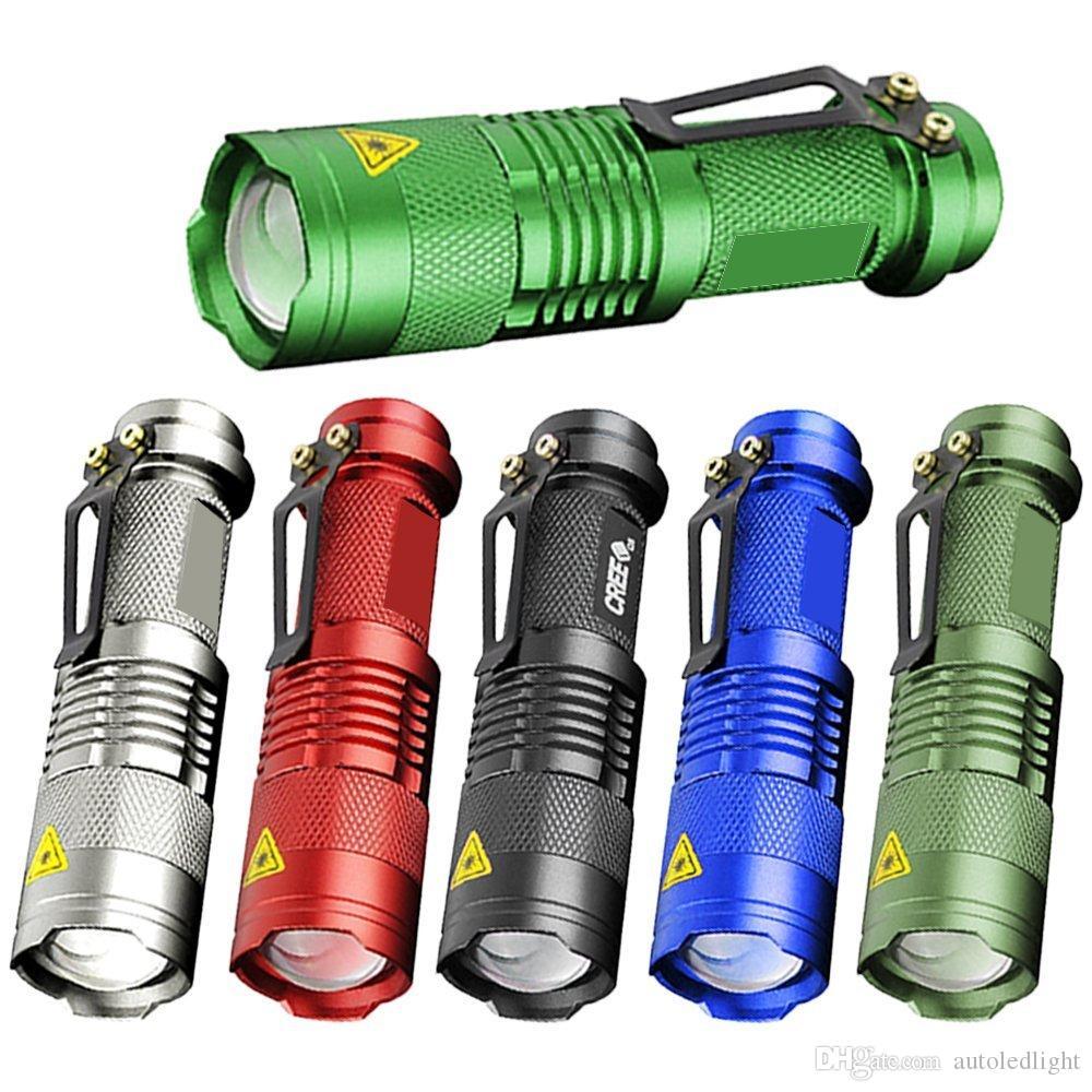 3 Point Zoomable 68 Réglable Q5 Mini Tactique Lumière Modes 7w Torche Mise Au 300lm Sk Led Lampe 0wmN8n