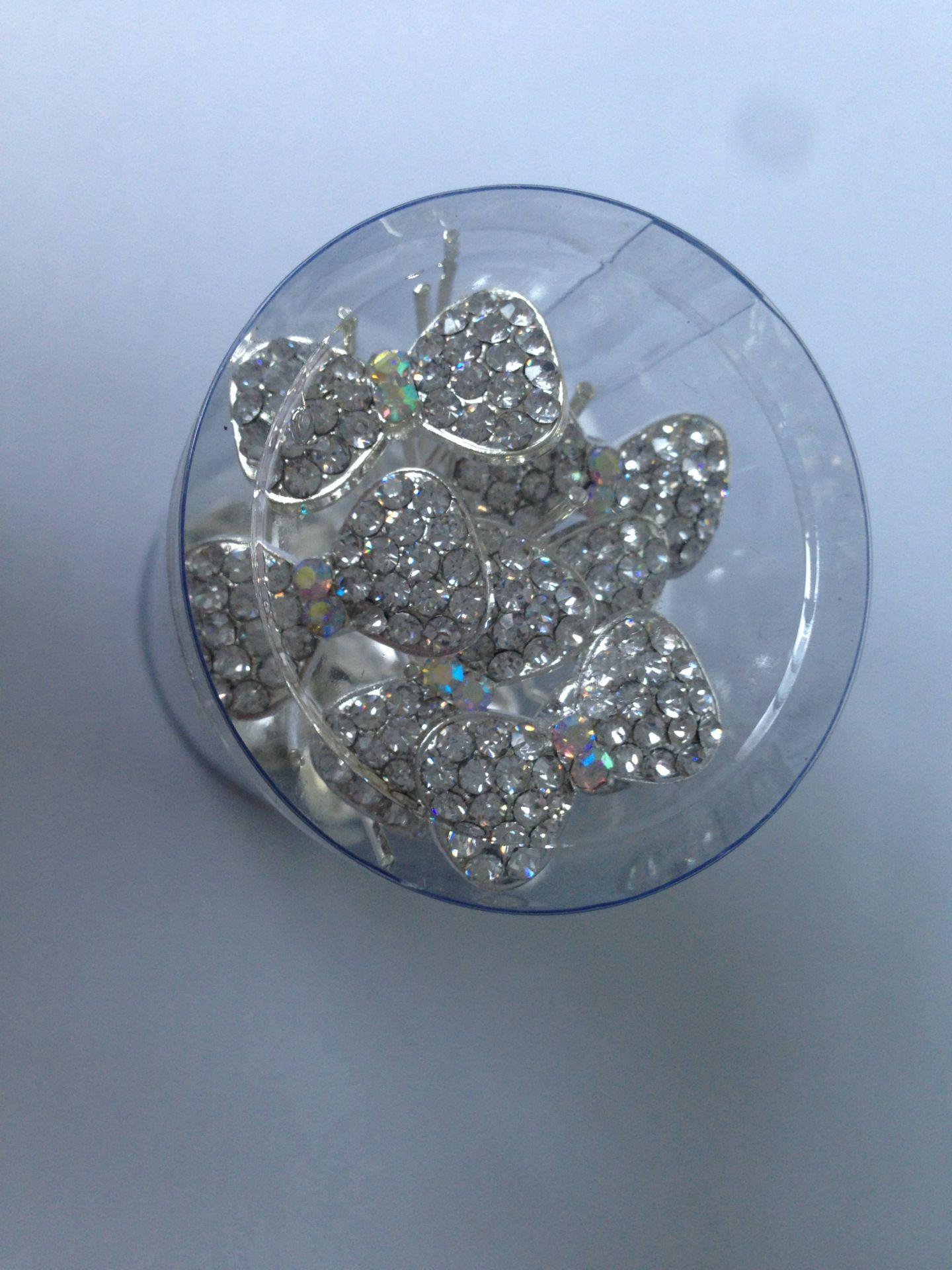 Edizione Han colore abbagliante diamante più capelli archi piatto piatto piatto piatto capelli sposa acconciatura gioielli moda