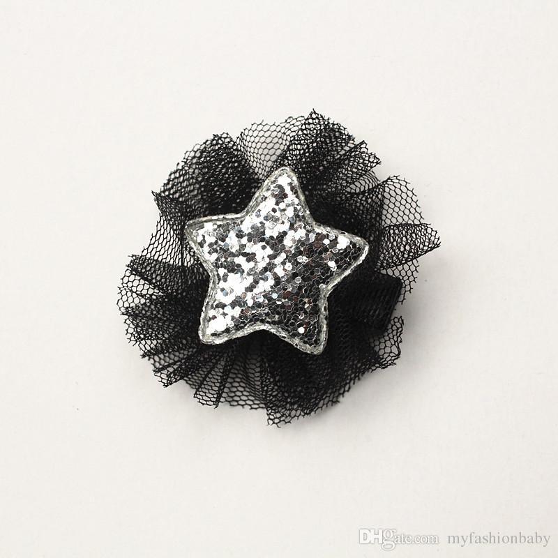 dos desenhos animados leopardo impresso arco de cabelo meninas amor pérola arcos hairpin estrela de prata floral preto compensação cabelo barrete impresso