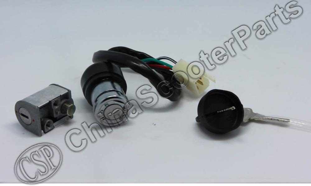 Wholesale Cfmoto Ignition Key Switch Lock Key Cf500 Cf188 500 500cc ...