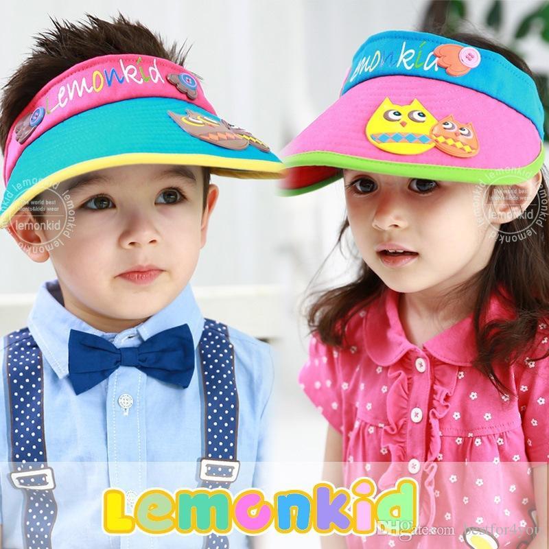 2019 Outdoor Empty Top Style Hat Children Sun Cap Sun Beach Cap Cute Baby  Girls Boys Sun Hats From Bestfor4you 5ae32ff4560e