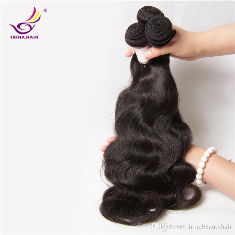 Brezilyalı Saç Remy İnsan Saç Uzantıları Perulu Malezya Hint Kamboçyalı Saç Örgü Vücut Dalga Uzantıları En İyi Kalite Kabul Kabul
